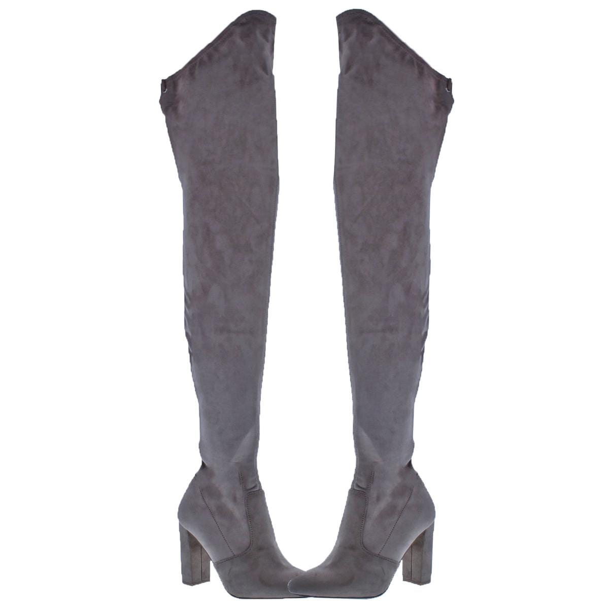 af0cad4727f Shop Steve Madden Womens Elektric Thigh-High Boots Faux Suede Tall - Free  Shipping Today - Overstock - 24030625