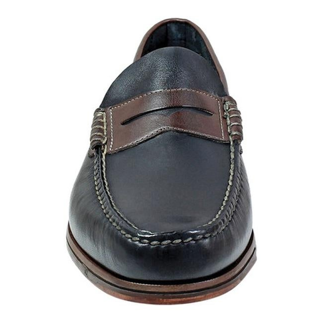2b9dca1d81b Shop Florsheim Men s Heads Up Penny Loafer Black Brown Smooth Leather -  Free Shipping Today - Overstock - 21856397