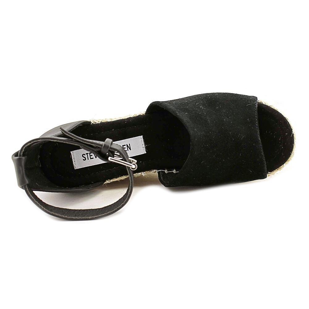 b13deeabfb3d Shop Steve Madden Jaylen Black Sandals - Free Shipping Today - Overstock -  15291794