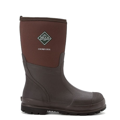 ca33503306ef Shop Muck Boot s Mens Chore Cool Mid Boot Brown - Size 10 - Free ...