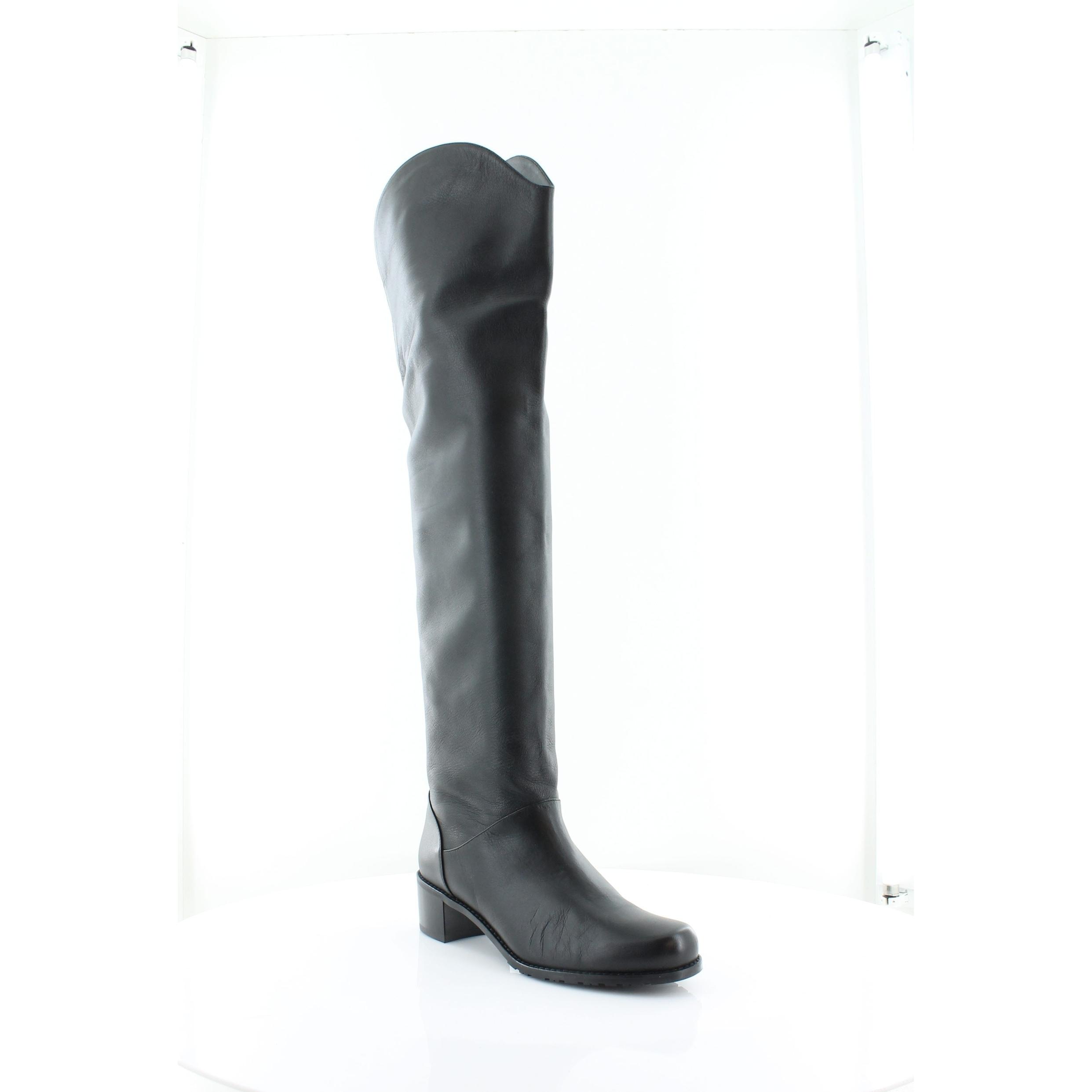 c9f3dbcdd7f Shop Stuart Weitzman Nudunkirk Women s Boots Black - Free Shipping ...
