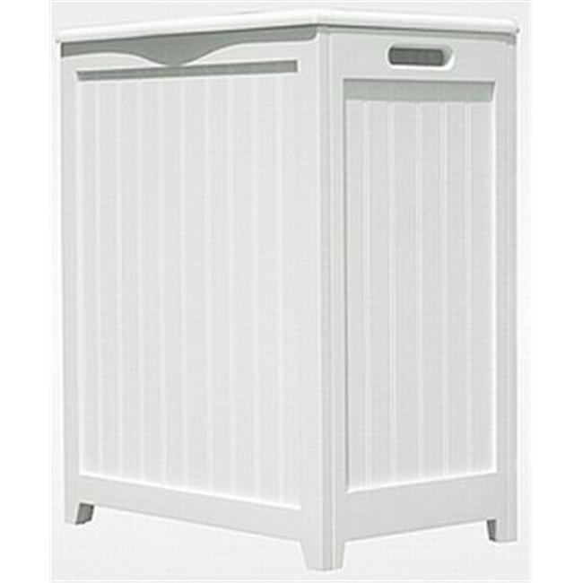Oceanstar Rhp0109w White Finished Laundry Hamper With Interior Bag Free Shipping Today 25039490