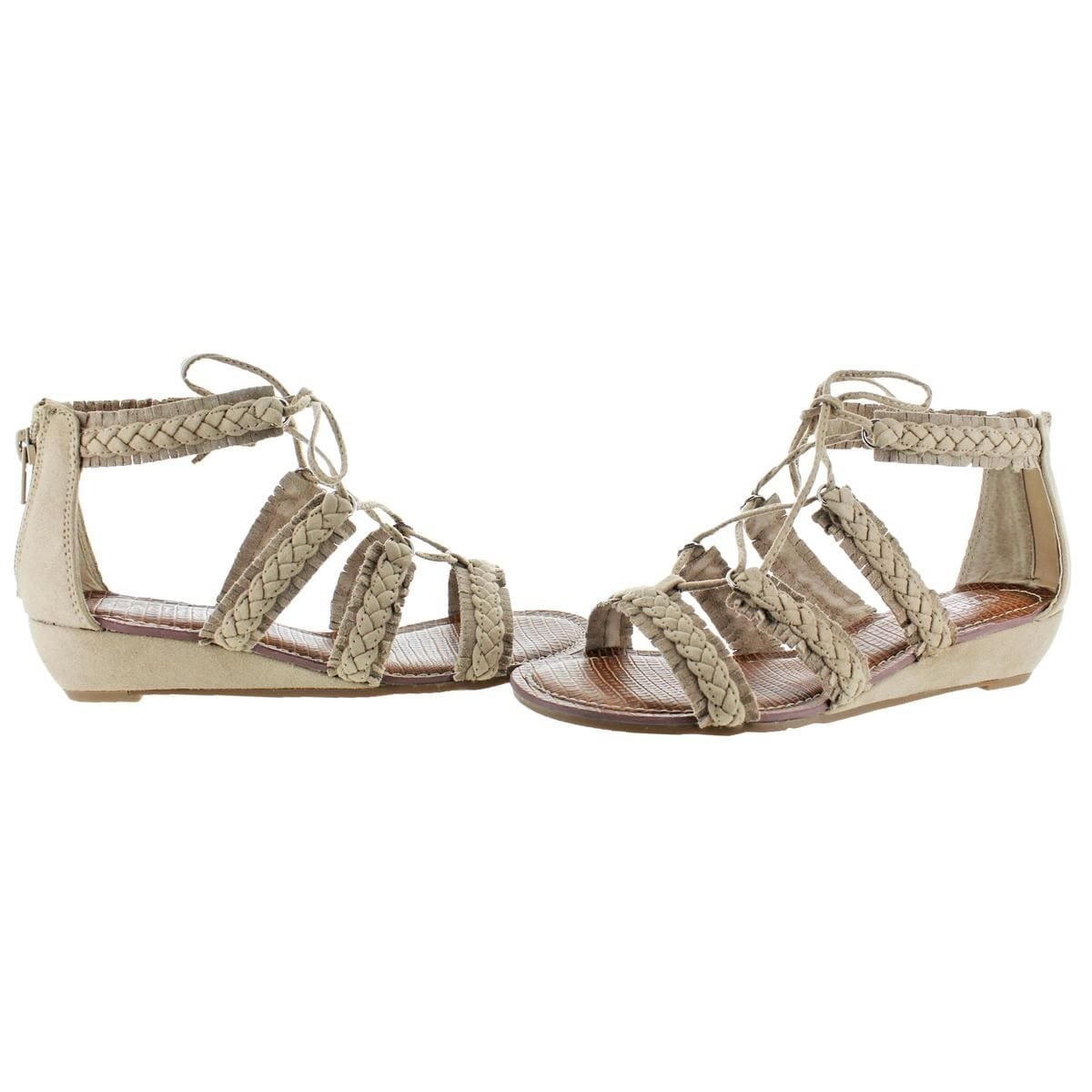 62b87c948d4b Shop Carlos by Carlos Santana Womens Kenzie Gladiator Sandals Ghillie  Fringe - Free Shipping On Orders Over  45 - Overstock - 20996998