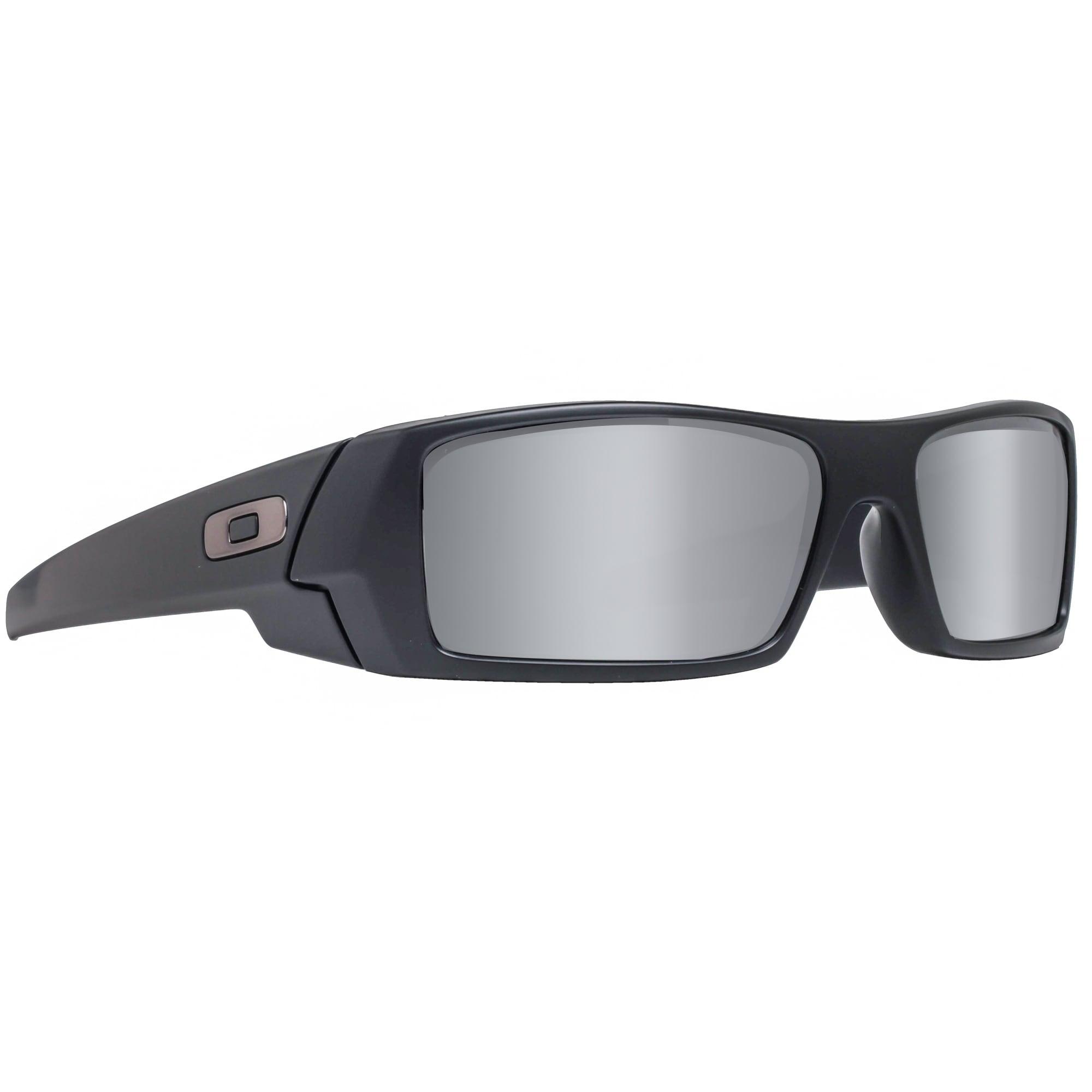 f7b83bc0ed ... best price shop oakley gascan 24 435 matte black iridium sport wrap  sunglasses matte black 60mm