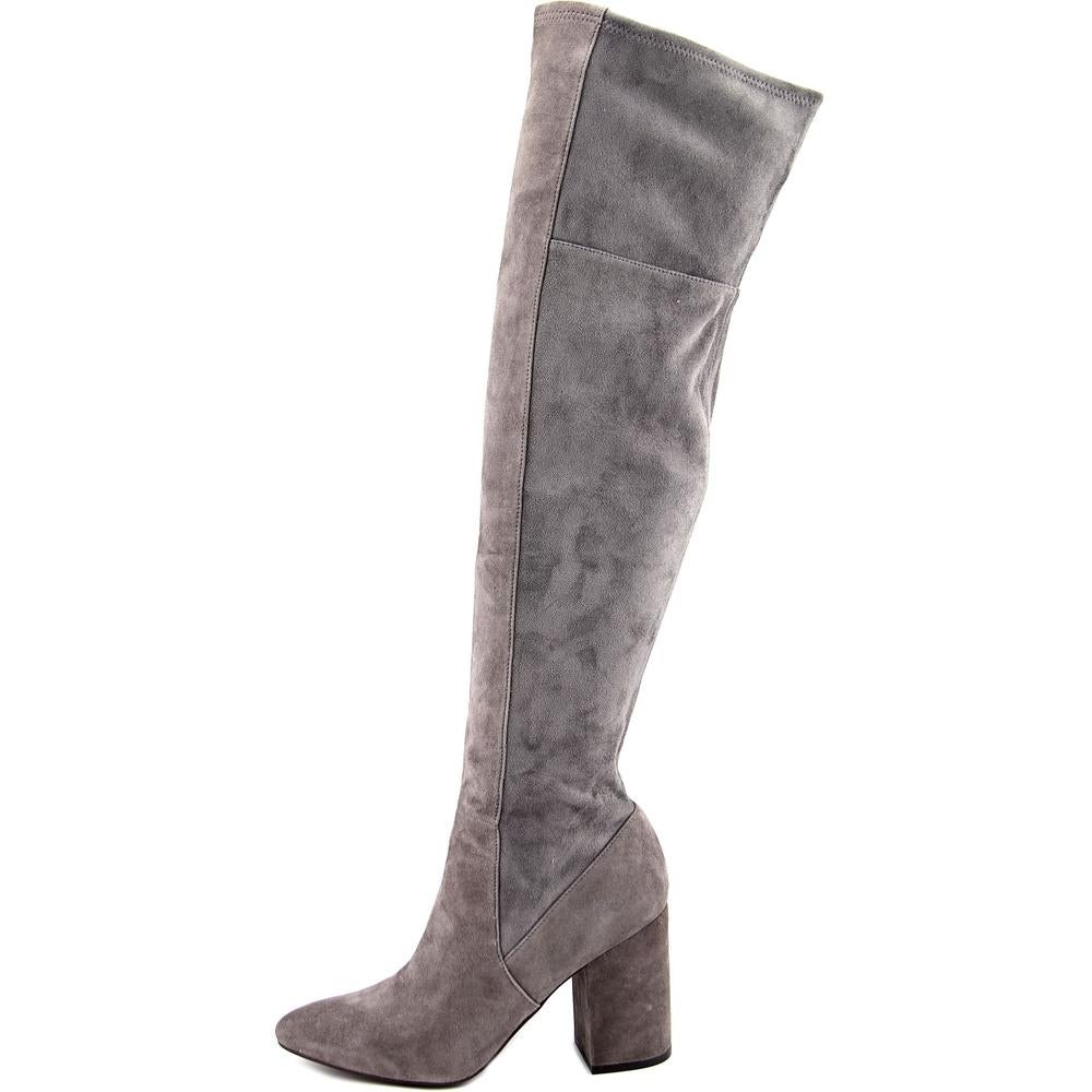 edbca640d94 Shop Cole Haan Darla OTK Boot Women Pointed Toe Suede Gray Over the Knee  Boot - Free Shipping On Orders Over  45 - Overstock - 14243671