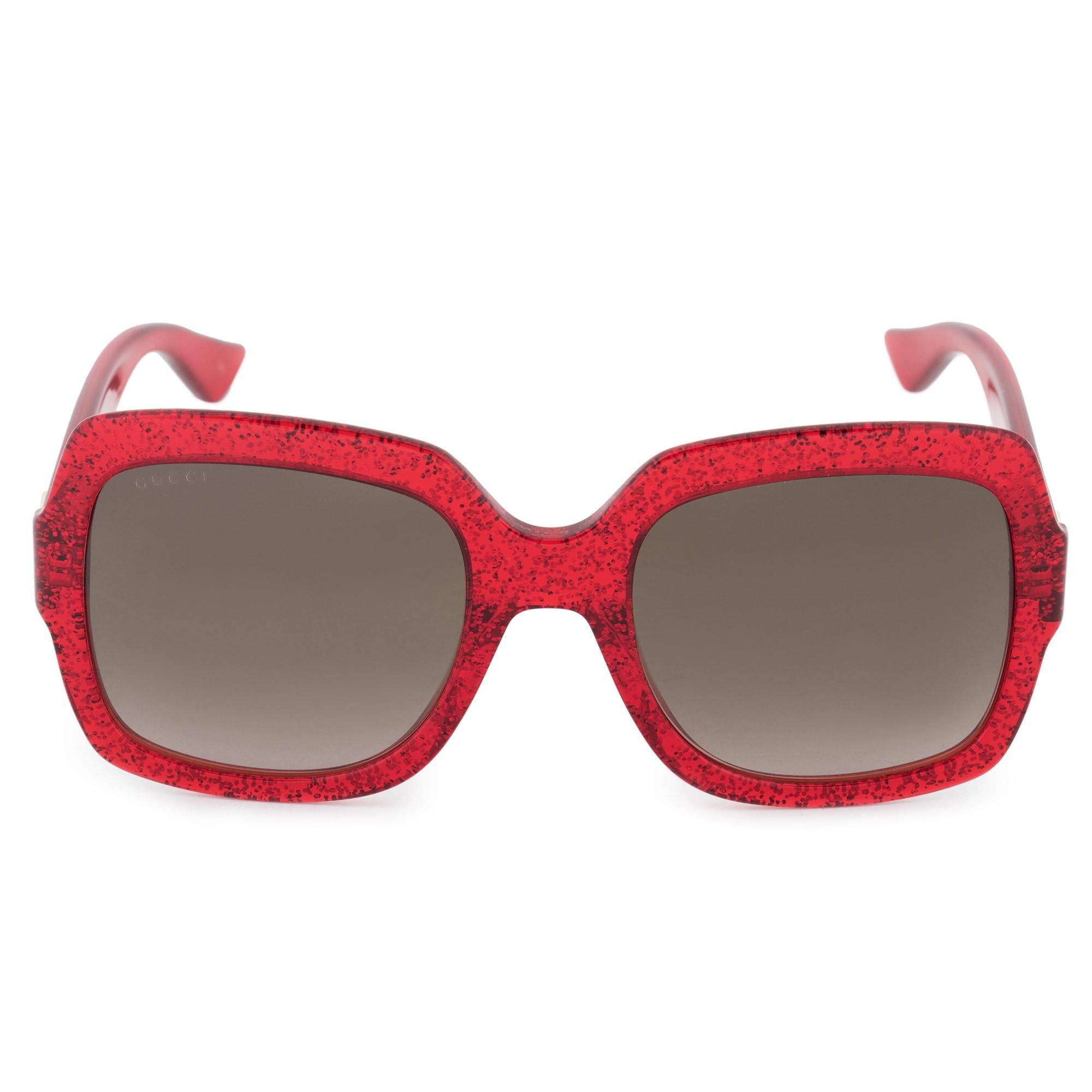 36e71e3cb093c Shop Gucci Gucci Oversized Sunglasses GG0036S 005 54 - Free Shipping ...
