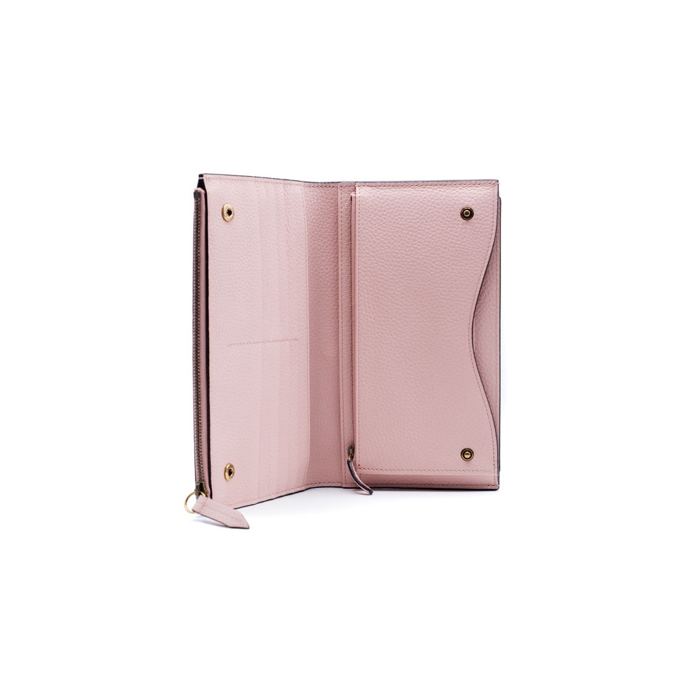 730843d28aa Shop Gucci Womens Pink   Gray Animalier Travel Document Case Clutch - Free  Shipping Today - Overstock - 16431650