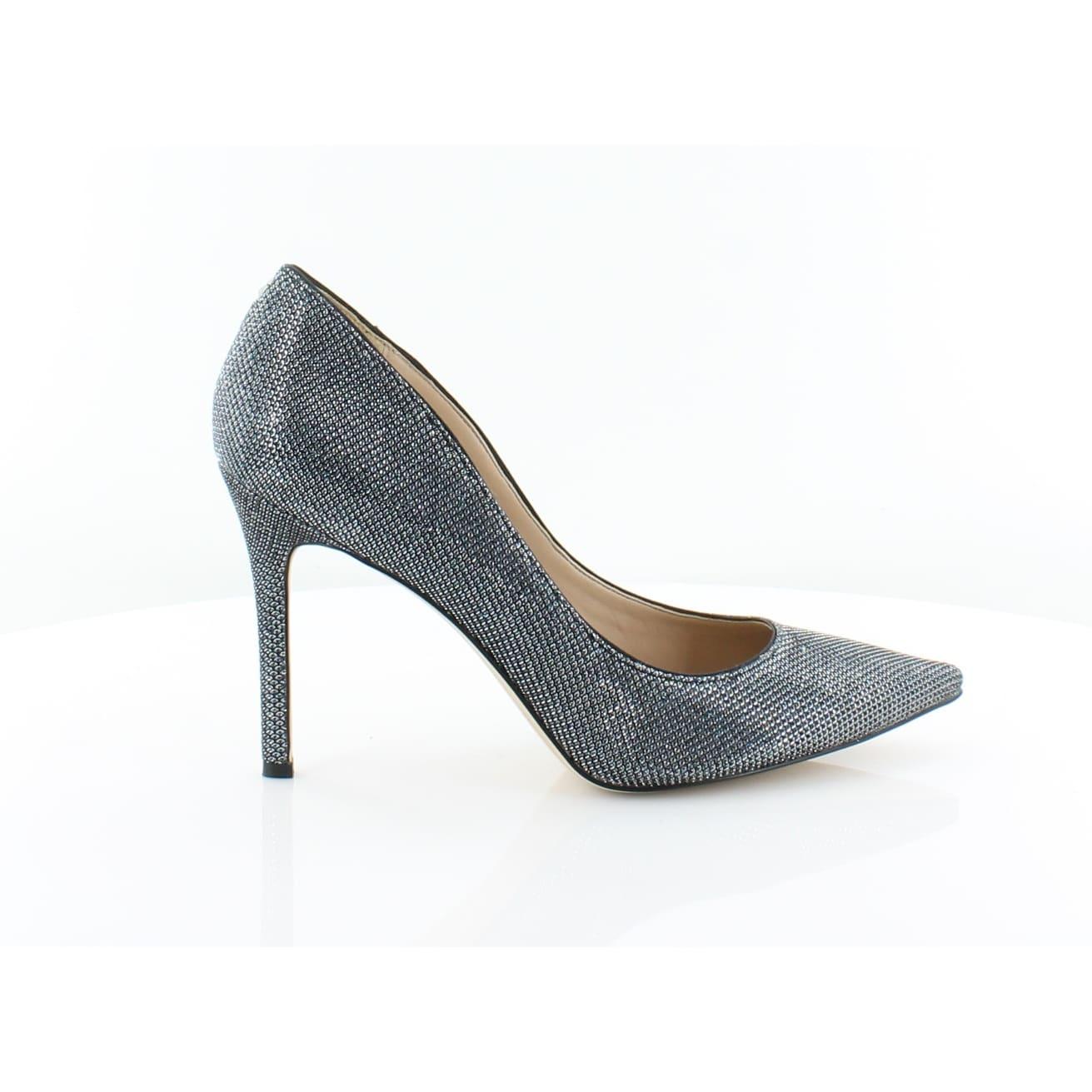 27198c64951c Shop Sam Edelman Hazel Women s Heels Blue Metal Mesh - 7 - Free Shipping  Today - Overstock - 27084707