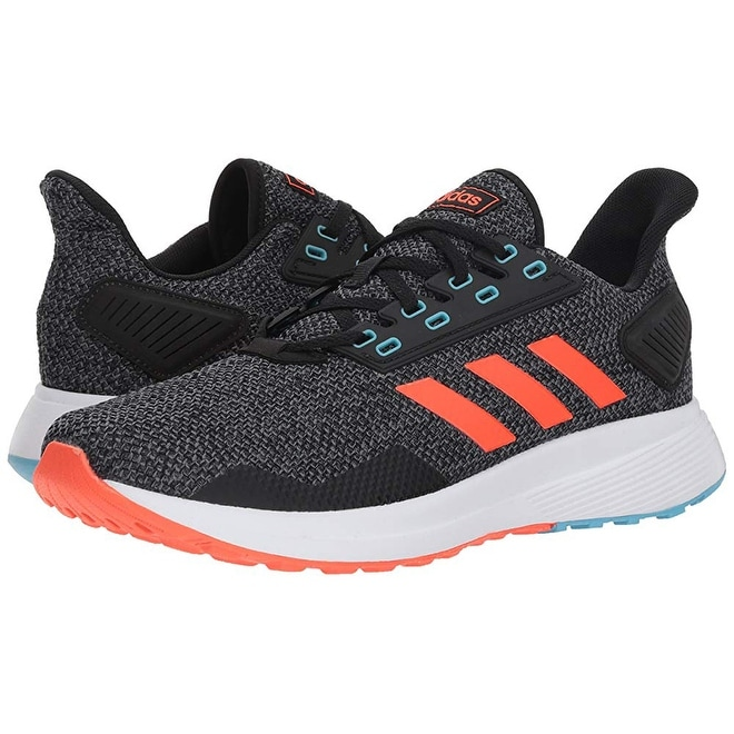 finest selection 3f5d4 2ef53 Shop Adidas Men s Duramo 9 Running Shoe, Black Solar Red Grey, 10 M Us -  Free Shipping Today - Overstock - 25367537