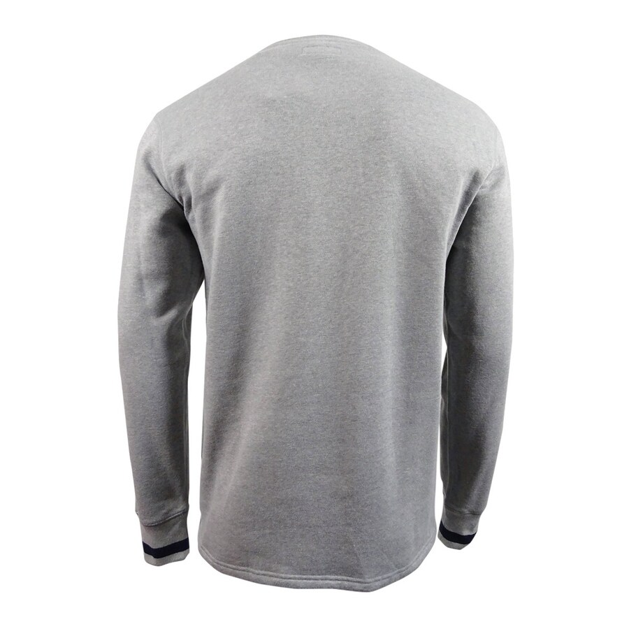 Blend Polo SweatshirtlGreyGrey Cotton Crewneck Brushed Jersey Lauren Ralph L Mens rBQxeCoWEd