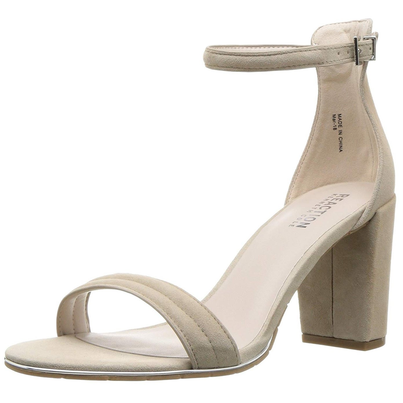 f76e481f1b8 Shop Kenneth Cole Reaction Womens Lolita Leather Open Toe Casual Ankle  Strap Sandals - Free Shipping On Orders Over  45 - Overstock - 25364435