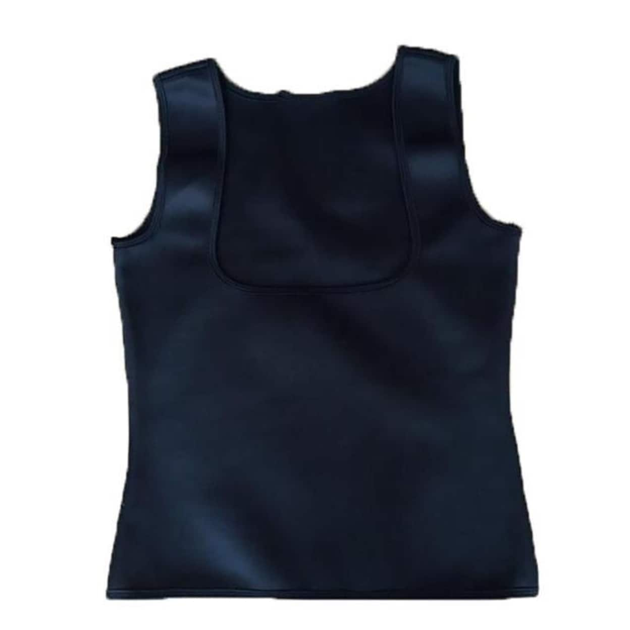 ba8c557e3b Shop STYLEDOME Neoprene Hot Shapers Vest Body Shaper Waist Trainers - Free  Shipping On Orders Over  45 - Overstock - 23025060