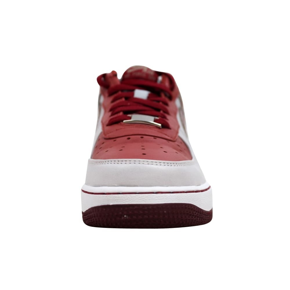 0d3e170fca2b Shop Nike Air Force I 1 Premium NS White Pinenut-Terra Cotta-Team Red  Grade-School 315517-122 Size 6 Medium - On Sale - Free Shipping Today -  Overstock - ...