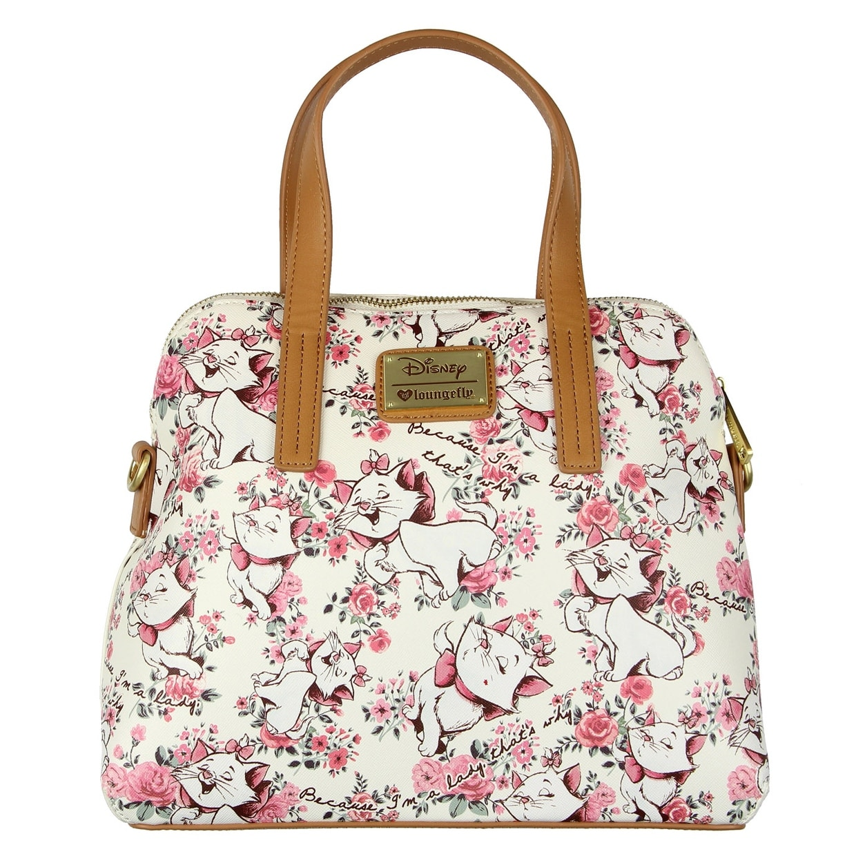 Loungefly X Marie Floral Mini Faux Leather Backpack