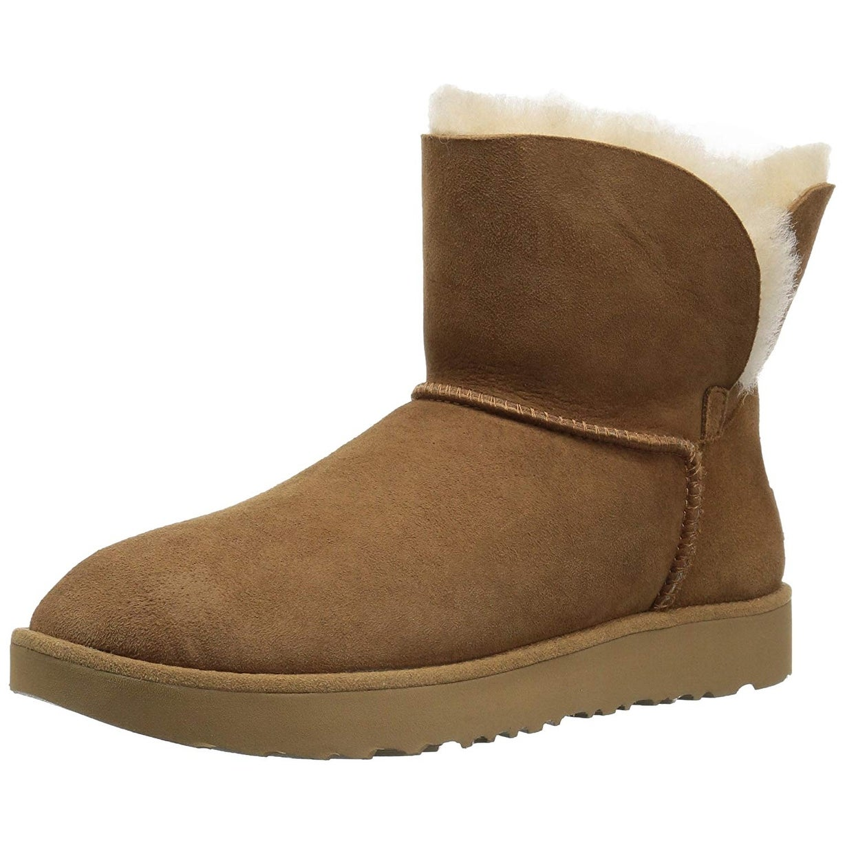 39a78f432cac0 Shop UGG Women s Classic Cuff Mini Winter Boot - Free Shipping Today ...