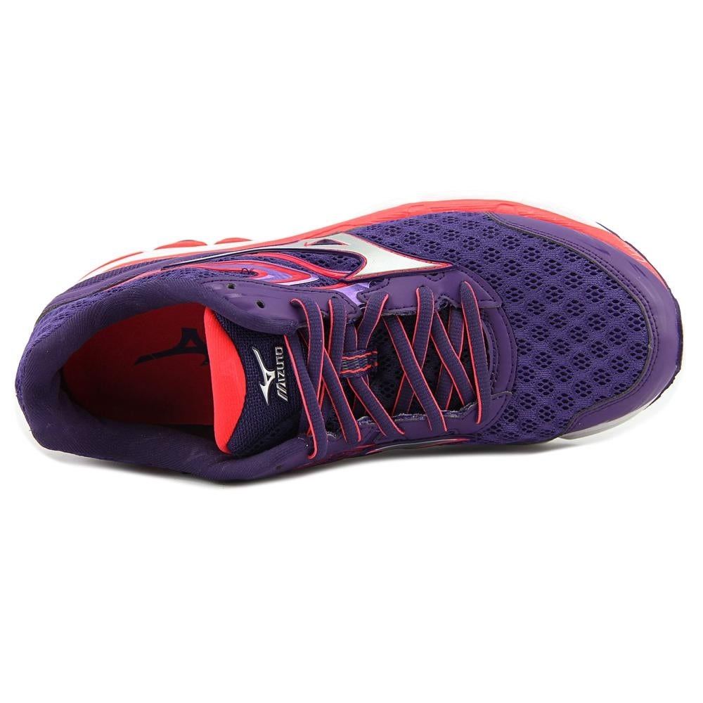 Mizuno Wave Inspire 12 Women D Round Toe Synthetic Purple Running Shoe -  Free Shipping On Orders Over $45 - Overstock.com - 24970204
