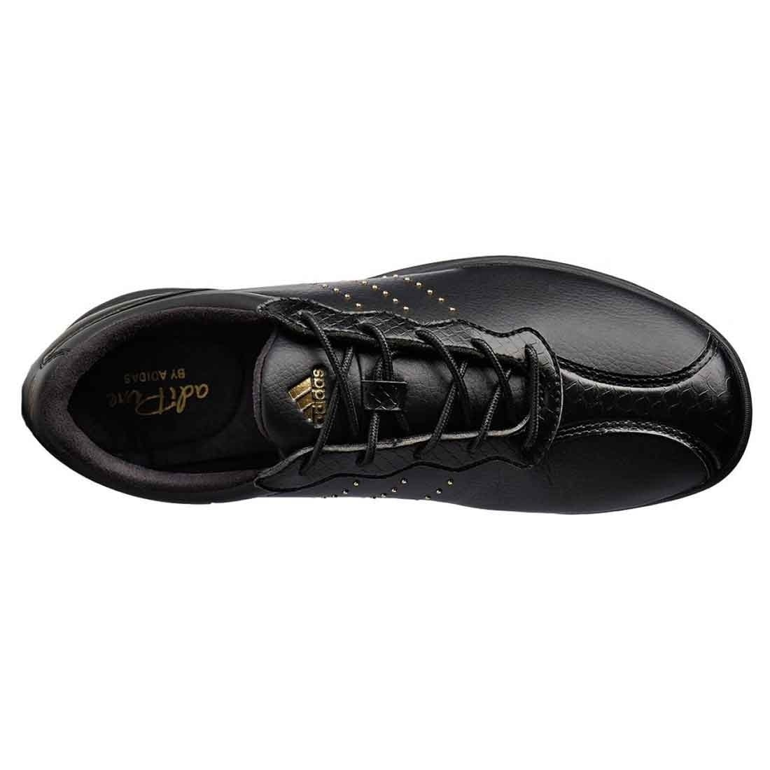 newest 651f7 a7694 Shop Adidas Womens adipure dc Low Top Lace Up Golf Shoes, Black gold, Size  5.0 - 5 - Free Shipping Today - Overstock - 22538922
