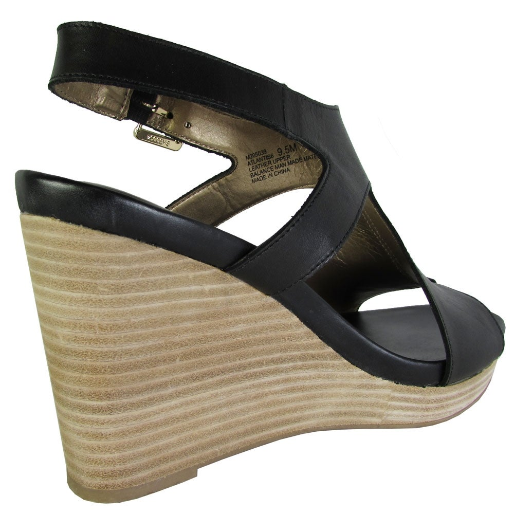 14c84ac558f Shop Me Too Womens Atlantis6 Leather Open Toe Casual Platform Sandals - 7 -  Free Shipping Today - Overstock.com - 26521736