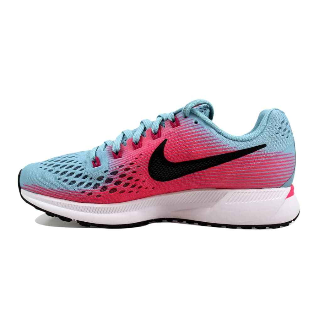 7dce6130fd1671 Shop Nike Air Zoom Pegasus 34 Mica Blue White-Racer Pink Women s 880560-406  Size 6.5 Medium - Free Shipping Today - Overstock - 27339888