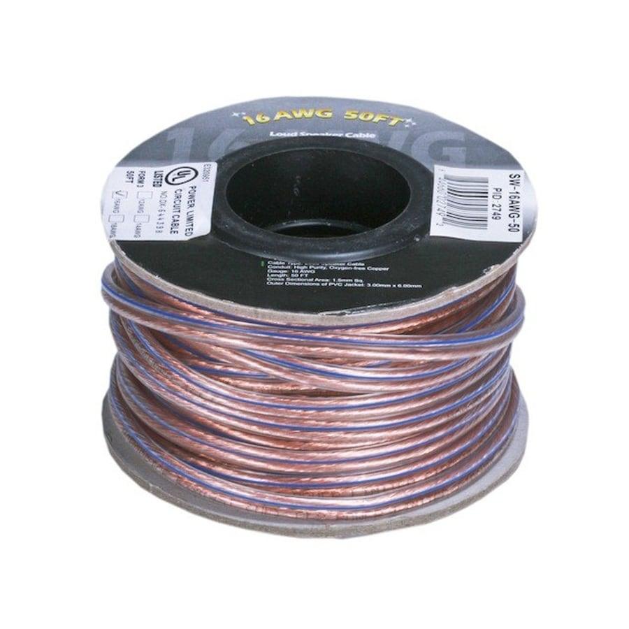 Speaker Wire 12 Awg | Shop Monoprice 100ft 12awg Enhanced Oxygen Free Copper Speaker Wire