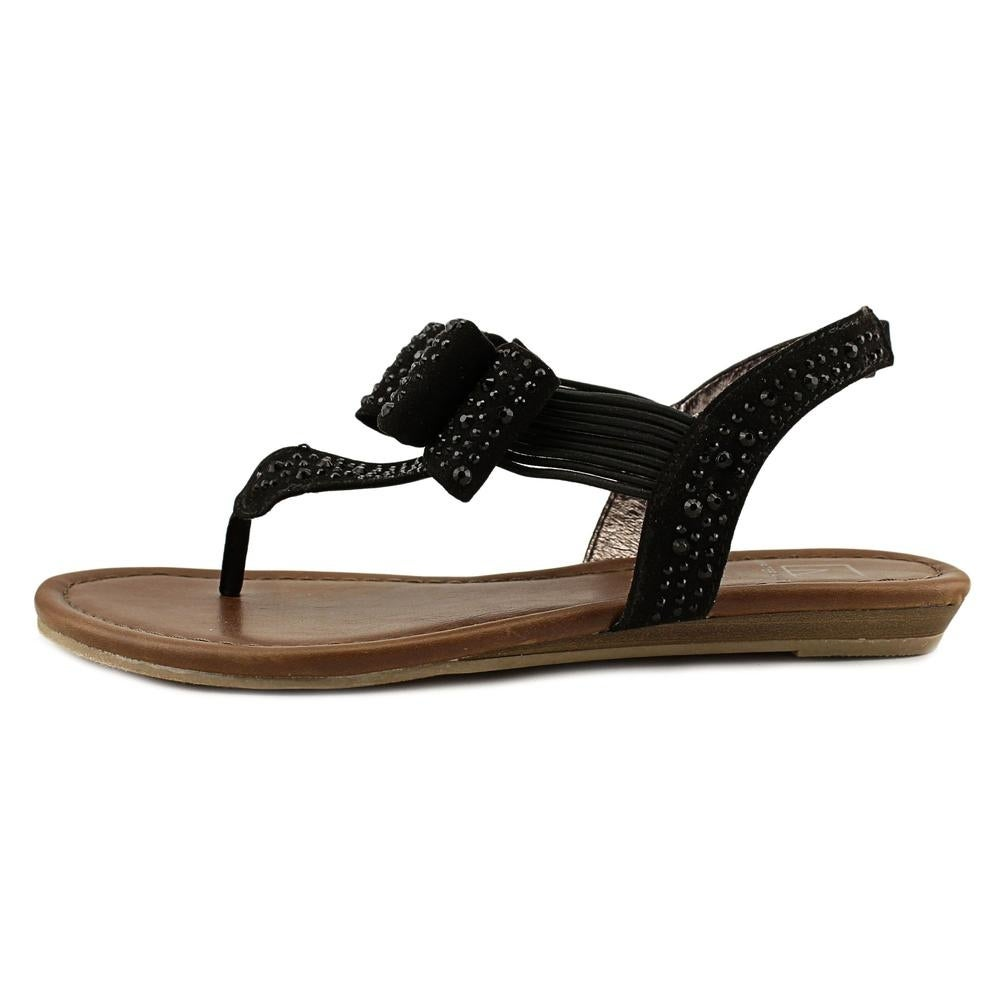 4706d7c575d Shop Material Girl Shayleen Women Black Sandals - Free Shipping On Orders  Over  45 - Overstock.com - 17837946