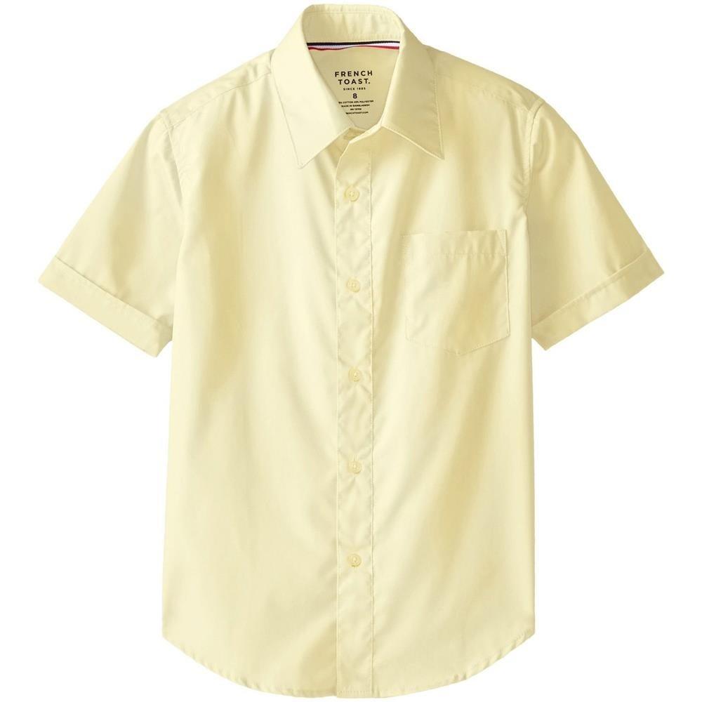 Shop French Toast Boys 8 20 Short Sleeve Dress Shirt Free Shipping