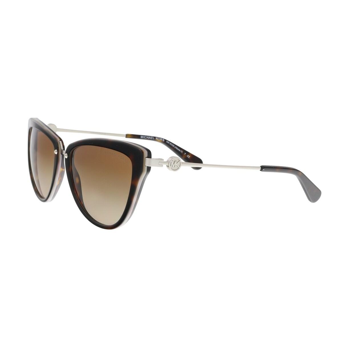 61adc66aca1 Shop Michael Kors MK6039 314513 2N ABELA II DARK TORTOISE LAVENDAR CATEYE  Sunglasses - 56-17-140 - Free Shipping Today - Overstock - 19430906