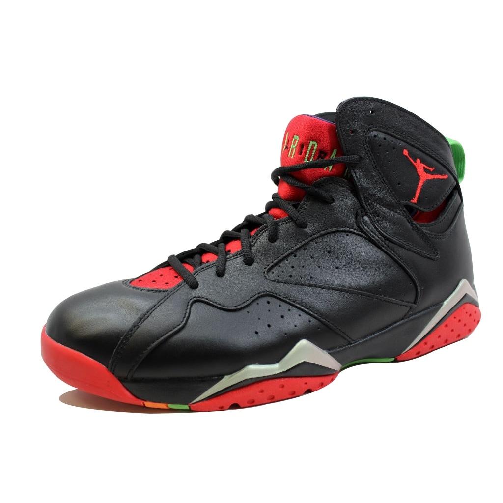 on sale 41544 75ffe Nike Men s Air Jordan VII 7 Retro Black University Red-Green Pulse-Grey  Marvin The Martian 304775-029