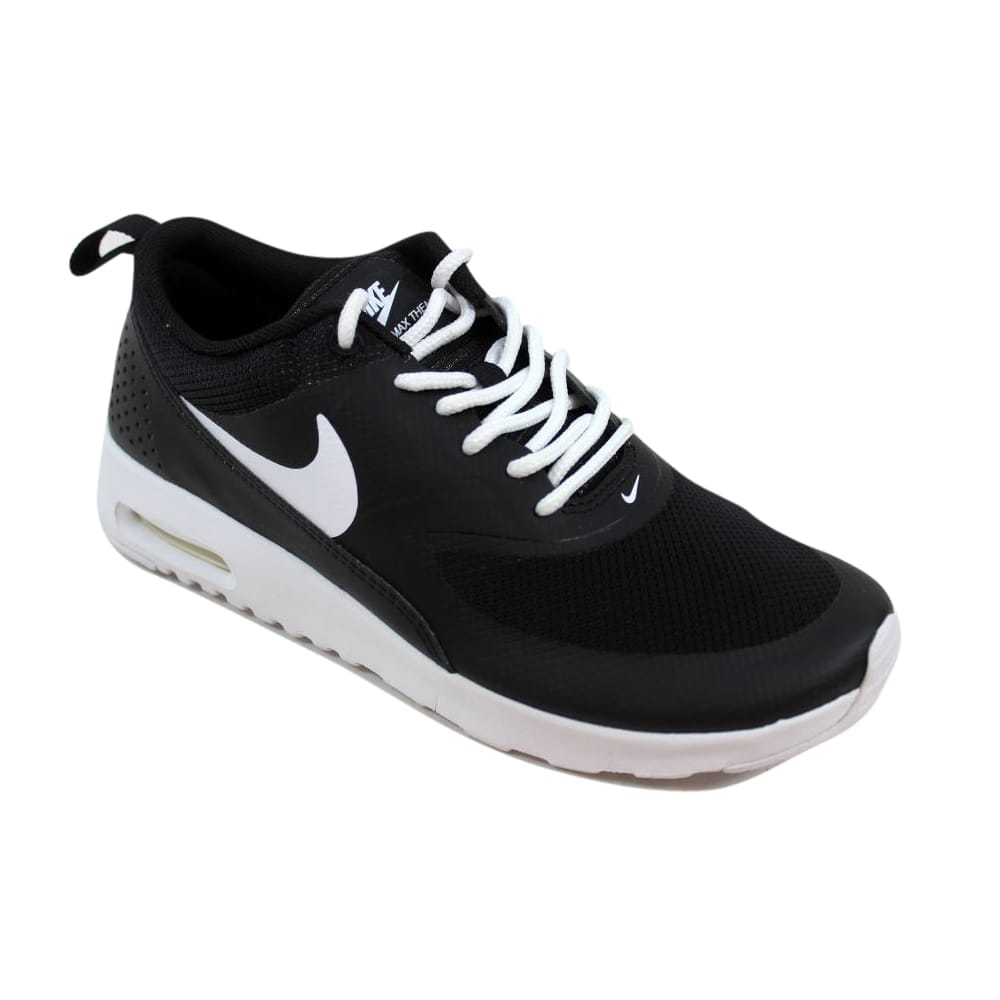 best loved 709ba 03d64 Shop Nike Air Max Thea Black White Grade-School 814444-006 Size 3.5 Medium  - Free Shipping Today - Overstock - 27601209