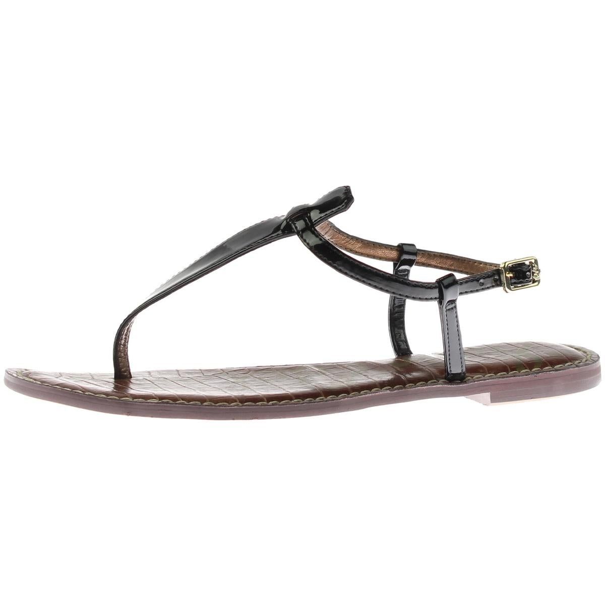 99266deff86f Shop Sam Edelman Womens Gigi Thong Sandals Buckle T-Strap - Free Shipping  On Orders Over  45 - Overstock - 13308844