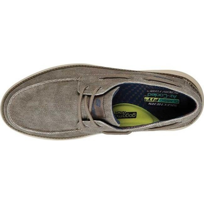 3fe05fd0 Shop Skechers Men's Status 2.0 Lorano Boat Shoe Taupe - On Sale - Free  Shipping Today - Overstock - 24322693
