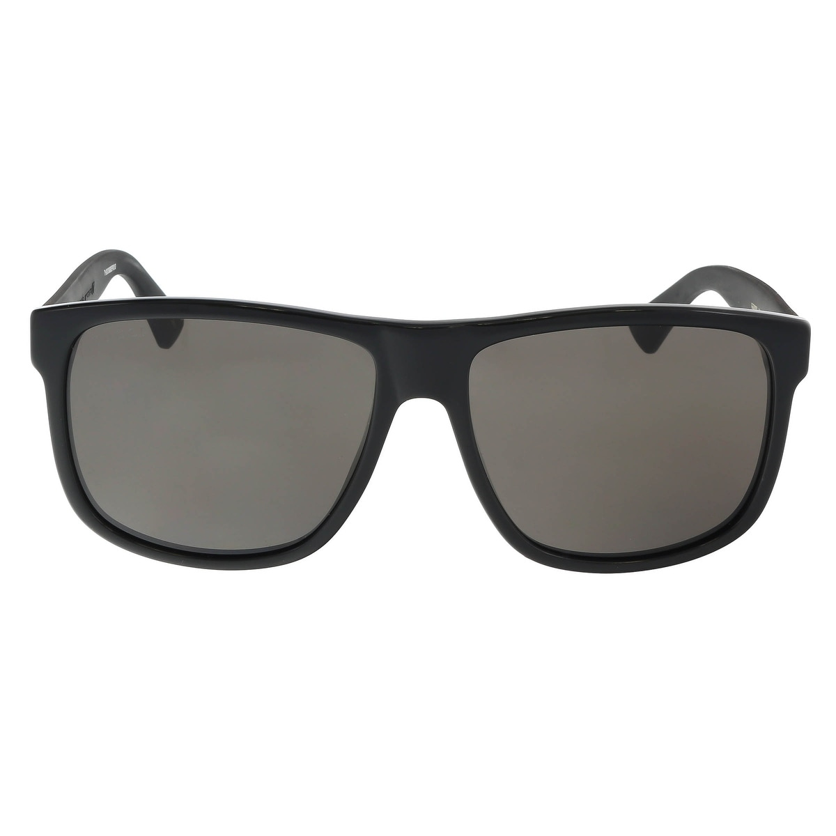 e379d9d5c Shop Gucci GG0010S 001 Black Square Sunglasses - 58-16-145 - Free Shipping  Today - Overstock - 18235788