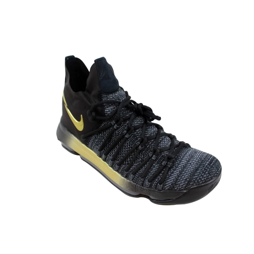 reputable site 2514e 9c4bf Shop Nike Men s Zoom KD9 Elite Black Tour Yellow-Blue Fury Flip The Switch  878637-007 - Free Shipping Today - Overstock - 24122881