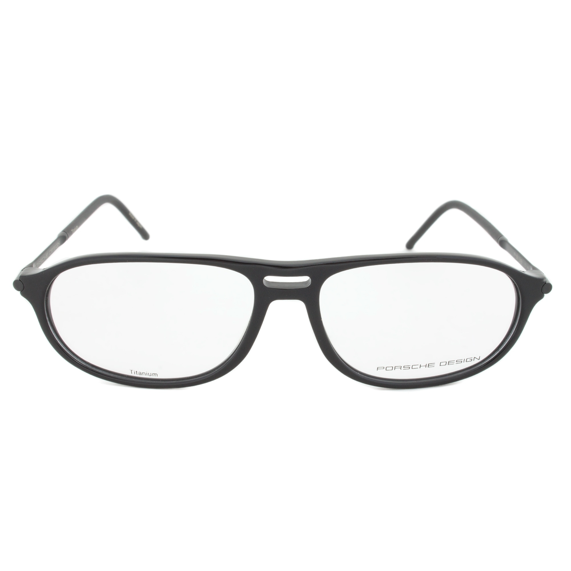 28ecc960bd80 Image Unavailable Source · Shop Porsche Design Porsche Design P8138 C Oval  Black Eyeglass