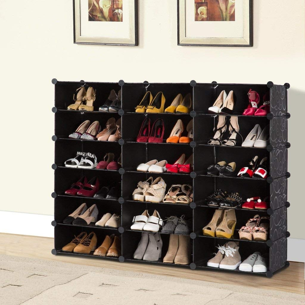 Langria 18 Cube Diy Shoe Rack Storage Drawer Unit Modular Organizer On Free Shipping Today 23044925