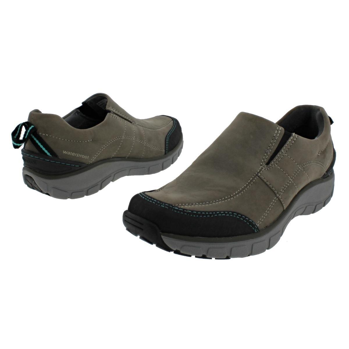 19020877ffa Clarks Womens Wave Brook Walking Shoes Leather Waterproof - 7 medium (b