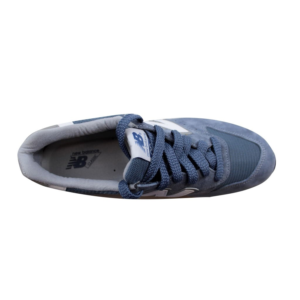 98e57bf8166 Shop New Balance Men's 996 Age Of Exploration Blue/Blue Bell-Silver M996CHG  - Free Shipping Today - Overstock - 21892947