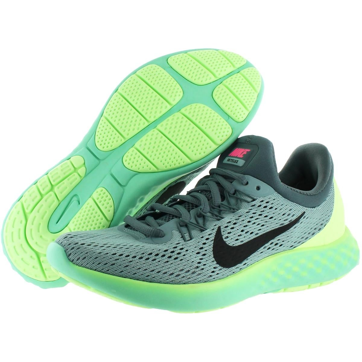 48461f80454 Shop Nike Womens Lunar Skyelux Running Shoes Round Toe Lace-Up - Free  Shipping Today - Overstock - 21848025
