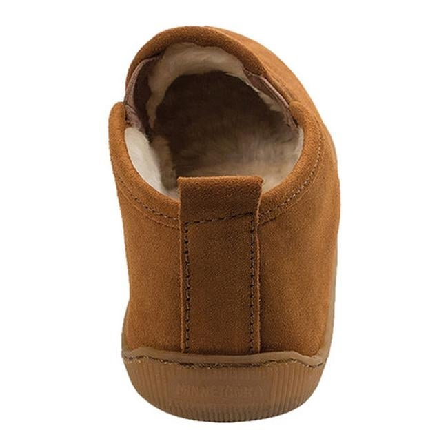 485166f14c2b0 Shop Minnetonka Men s Pile Lined Romeo Slipper Brown Suede - Free Shipping  Today - Overstock - 11945682