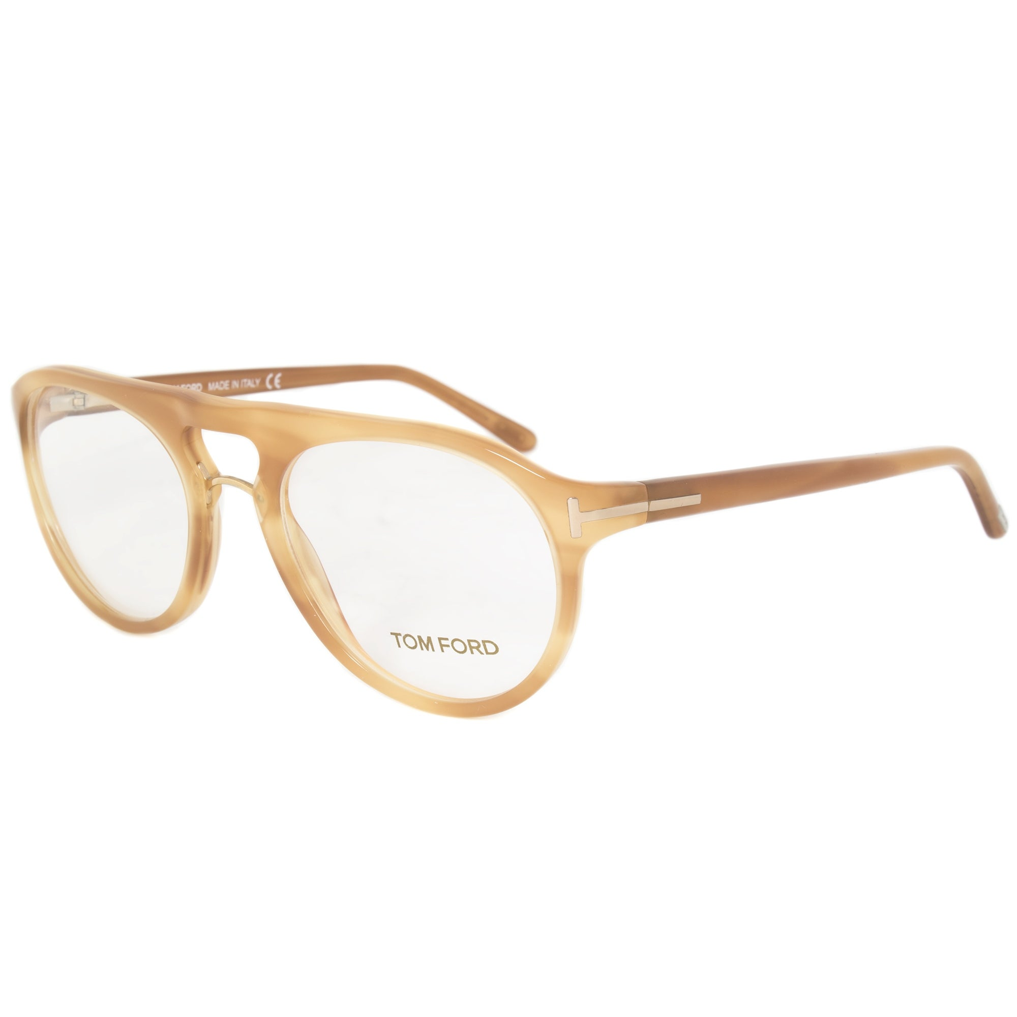 c5cfb1c693f21 Shop Tom Ford Unisex Round Eyeglasses FT5007 663 51 - Free Shipping Today -  Overstock - 19622882