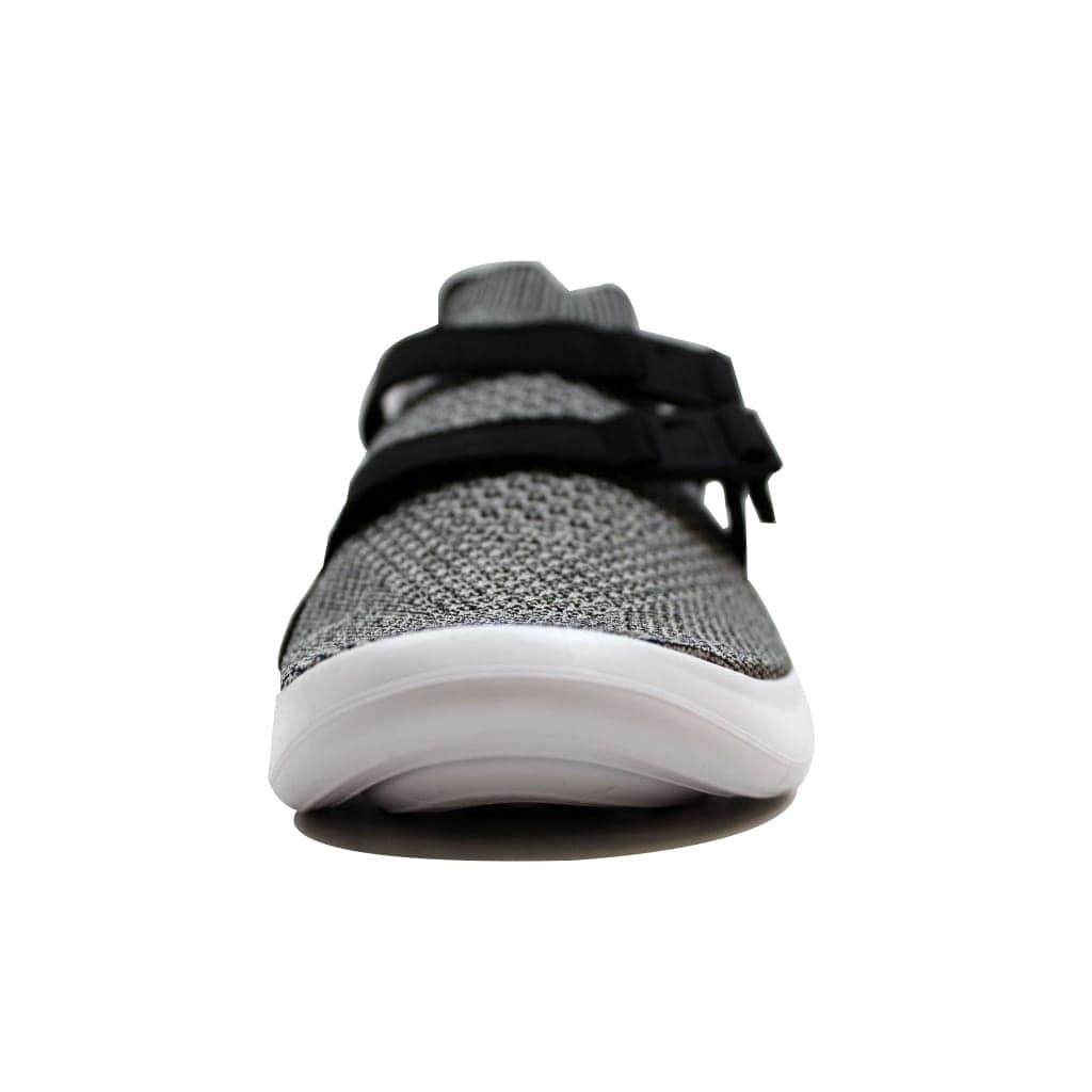 acfa3cbf232d3 Shop Nike Air Sockracer Flyknit Black Pale Grey-Black-White 898022-004  Men s - Free Shipping On Orders Over  45 - Overstock - 19507286