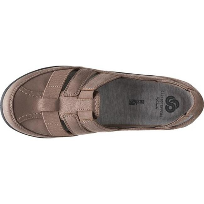 bd3ab230508a Shop Clarks Women s Sillian Stork Slip-On Pewter Synthetic - On Sale - Free  Shipping Today - Overstock - 20590189