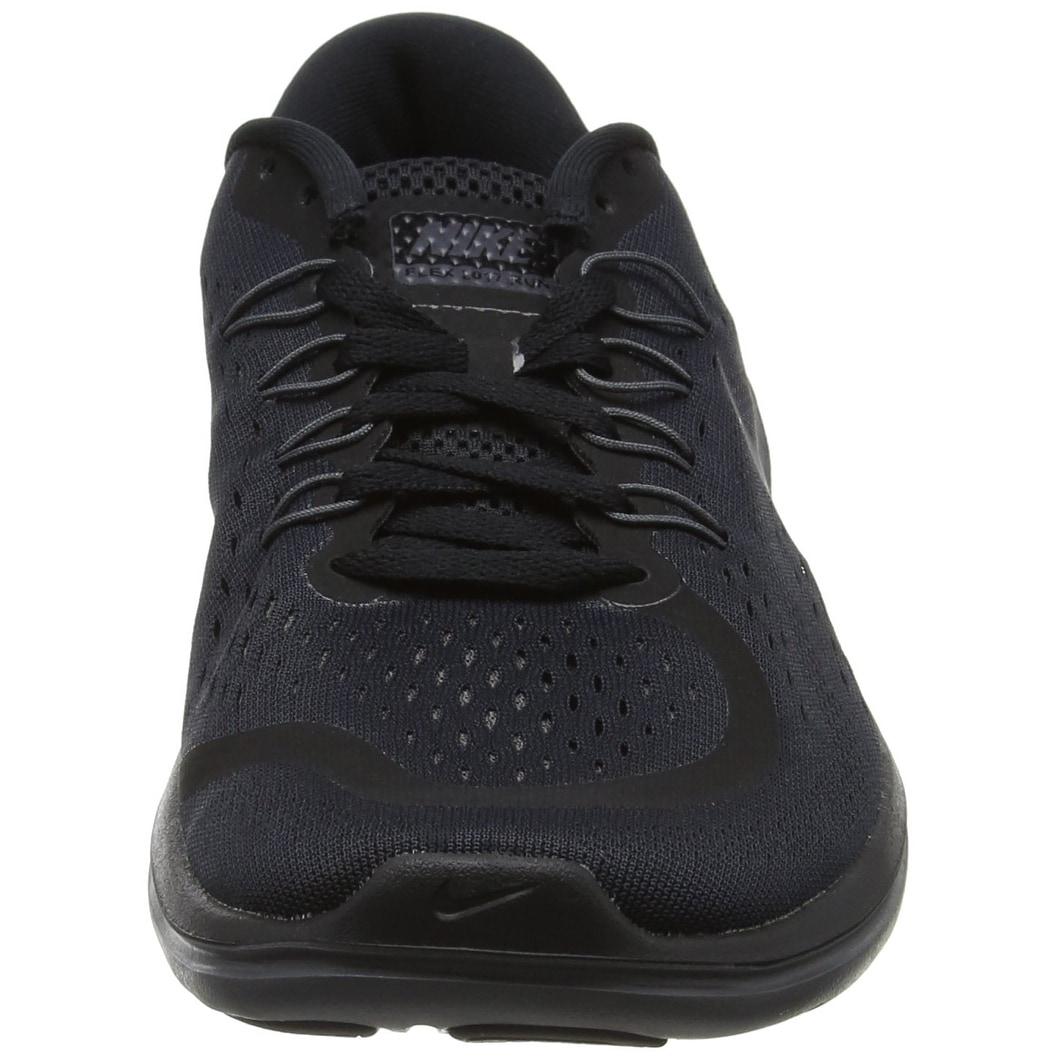 1431afe626261 Nike Men's Flex 2017 Rn Running Shoe, Black/Metallic  Hematite/Anthracite/Dark Grey), US Men's