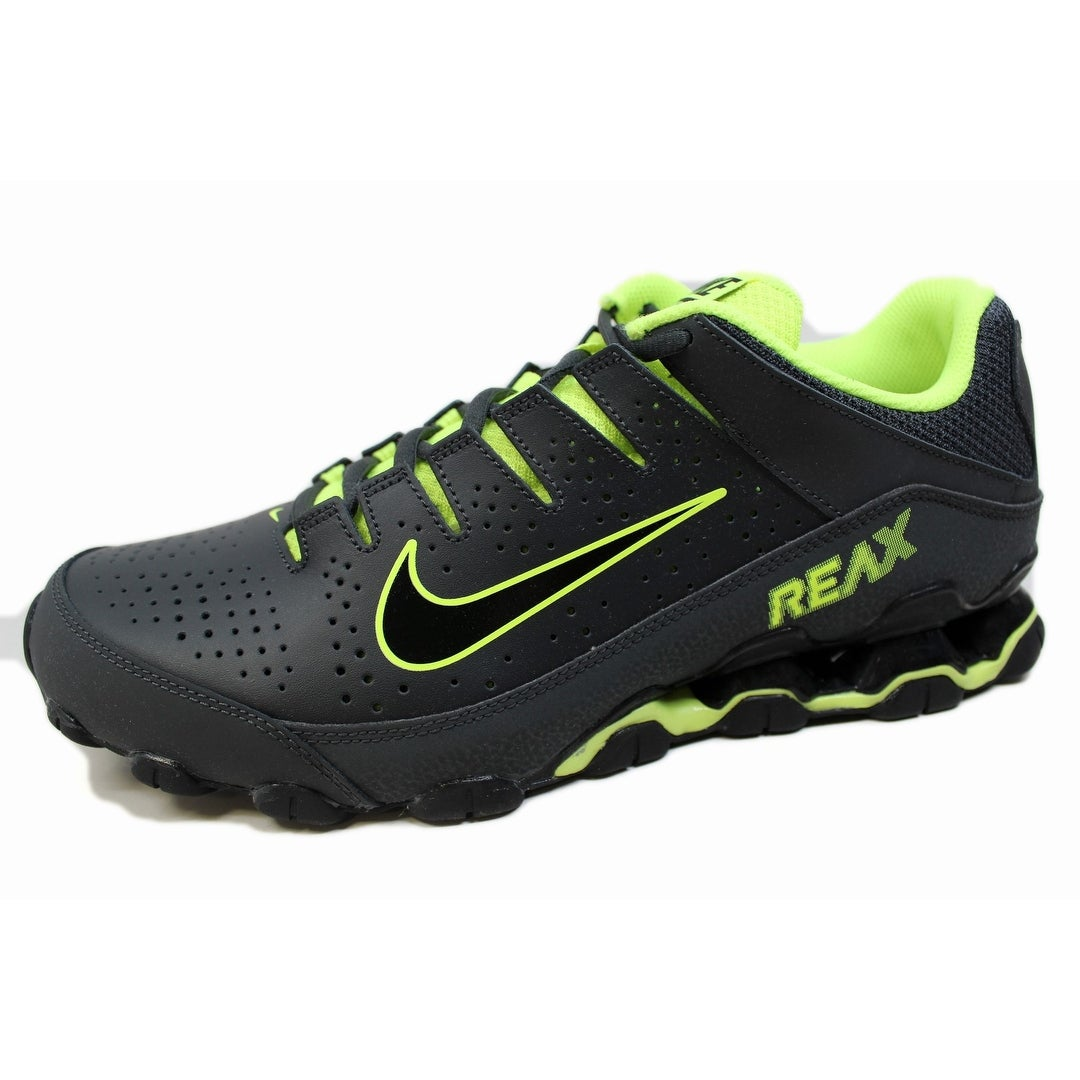 brand new 0058b 650ca Nike Men s Reax 8 TR Anthracite Black-Volt 616272-036