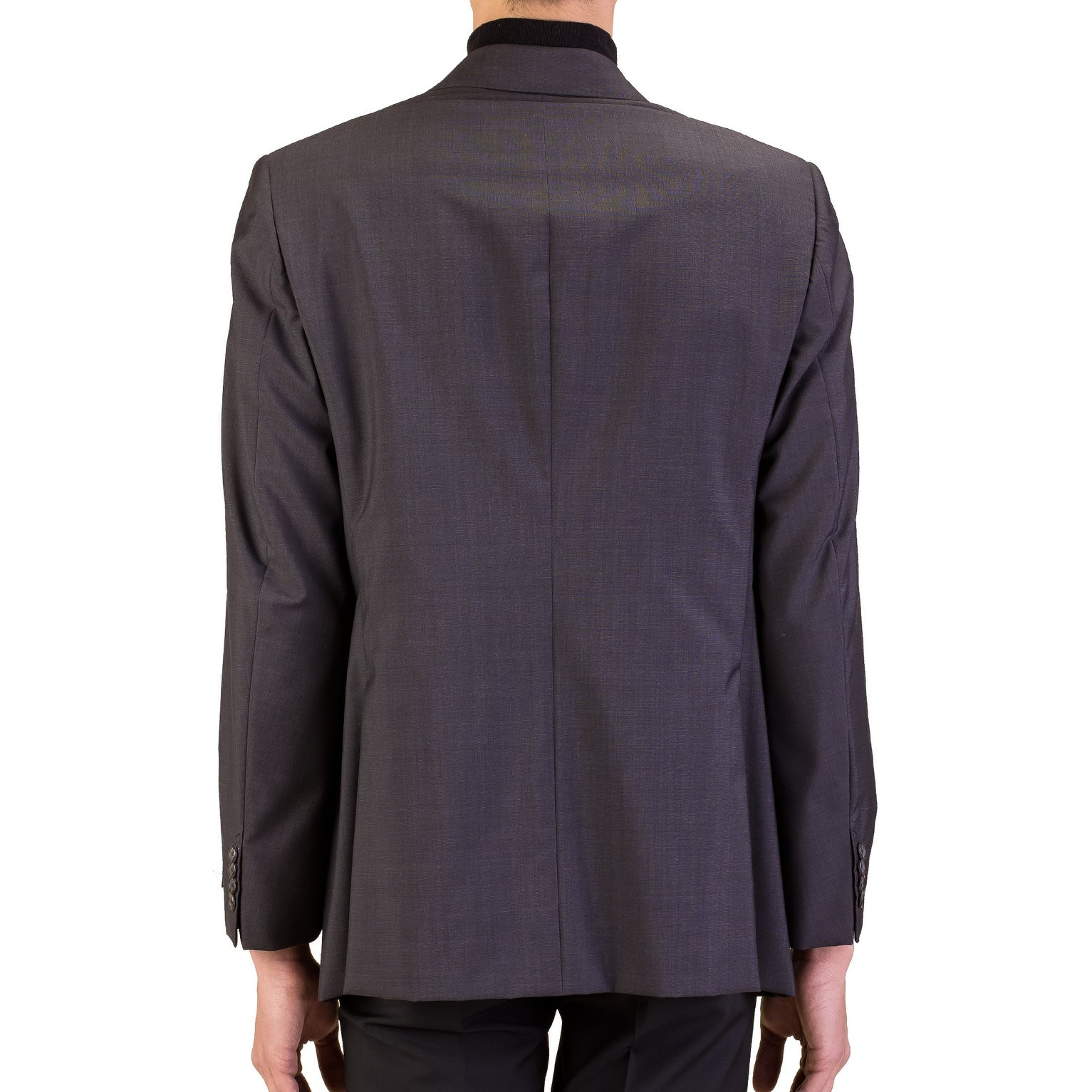 6c57be082ad Shop Prada Men s Wool Silk Double Breasted Jacket Sportscoat Black - 44 - Free  Shipping Today - Overstock - 17167737