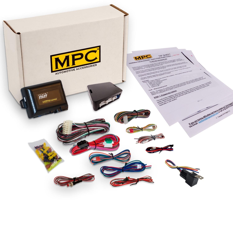 Complete Add On Remote Starter Kit For 2000 2002 Pontiac Montana W Byp Module Ez Installation