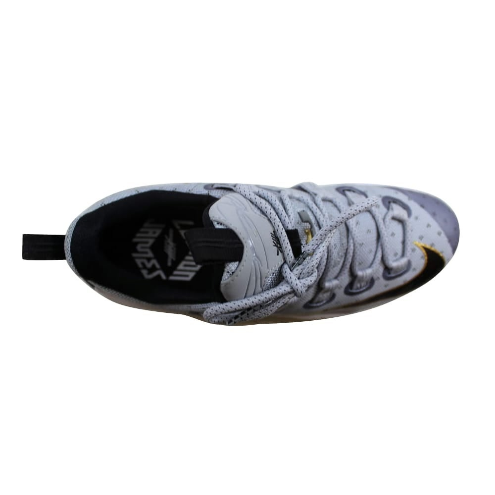 new styles f5abb 32819 Shop Nike Lebron XIII 13 Low Cool Grey Metallic Gold-White-Black 831925-071  Men s - Free Shipping Today - Overstock - 27339539