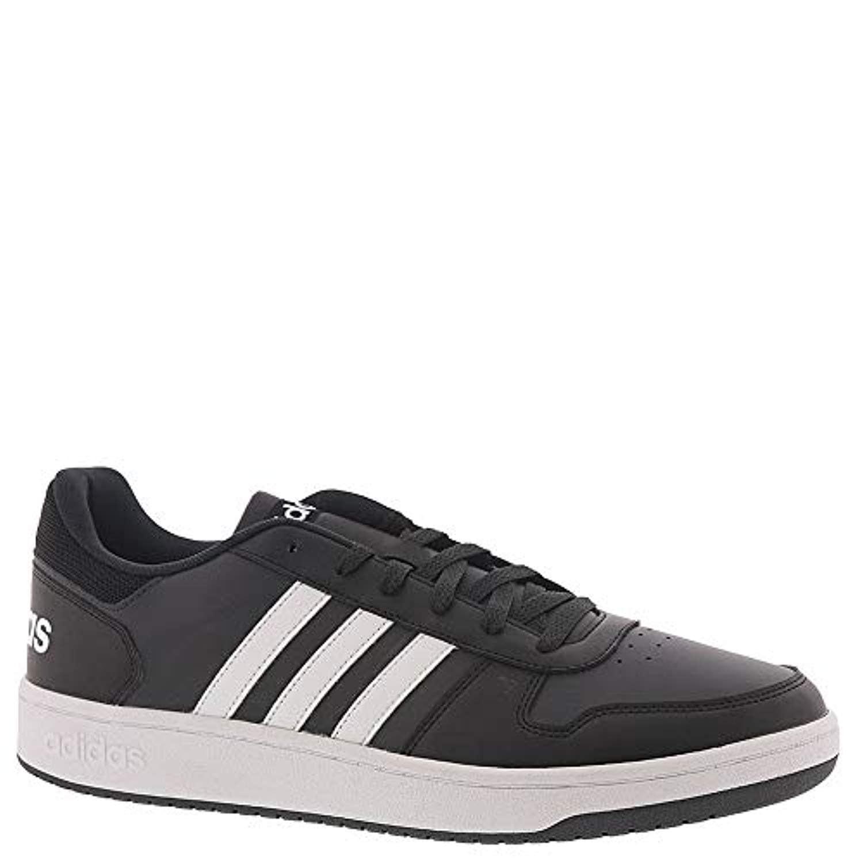b2ea01215c adidas Men's Hoops 2.0 Sneaker, Black, 10 M US