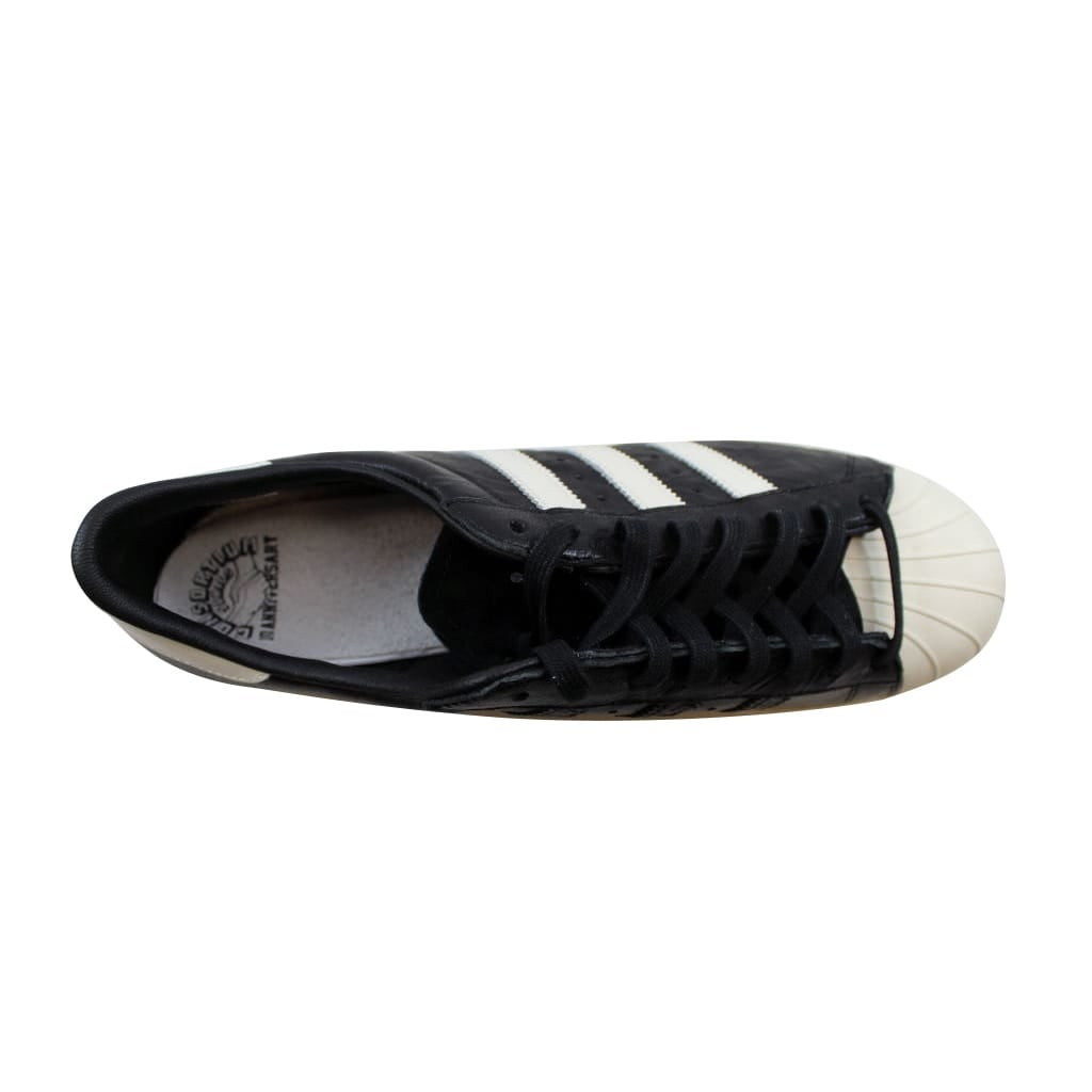 20c5d6079bc Shop Adidas Men s Superstar 80v Adi Dassler Black White-Black B26279 - Free  Shipping Today - Overstock - 21893410