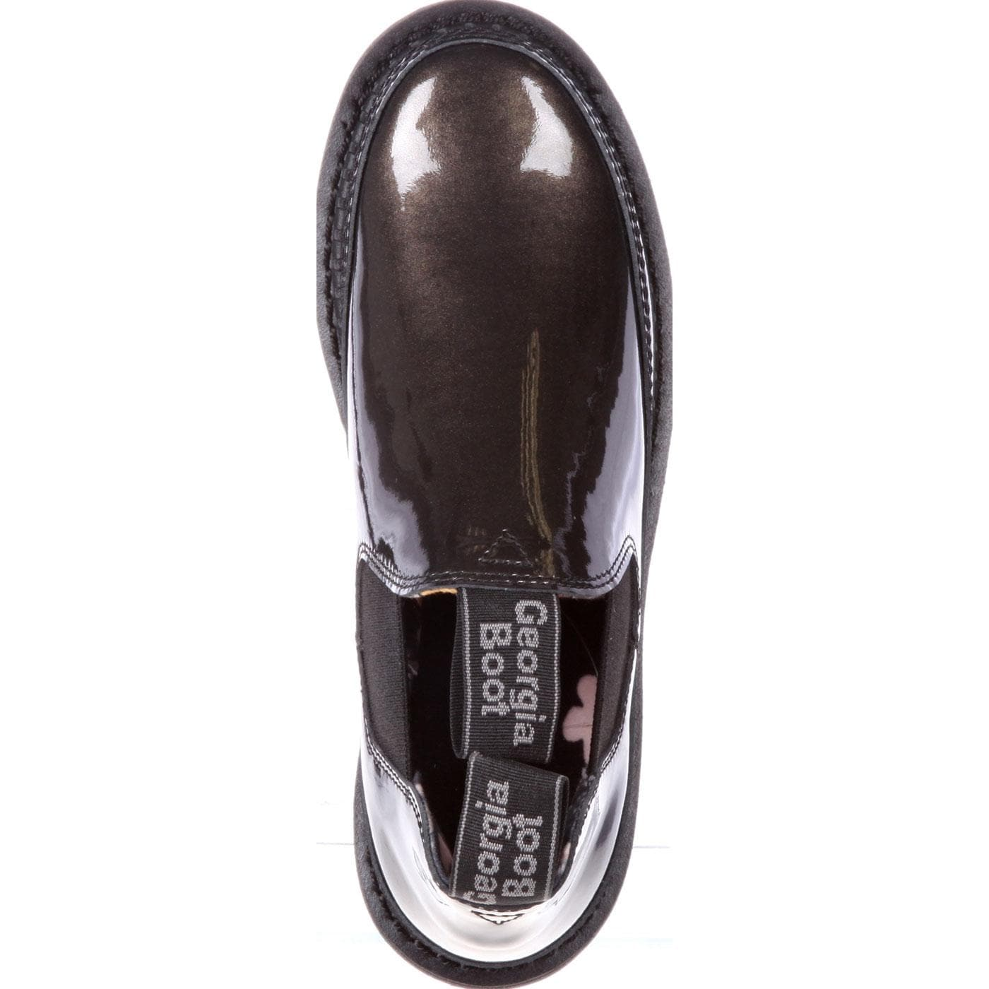 99002e9db57 Shop Georgia Giant  Women s Black Patent Leather Romeo Shoes - Free  Shipping On Orders Over  45 - Overstock - 27165118
